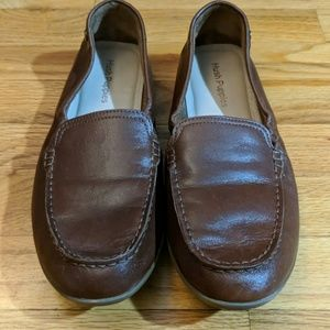 Men's hush puppies leather shoes 9.5